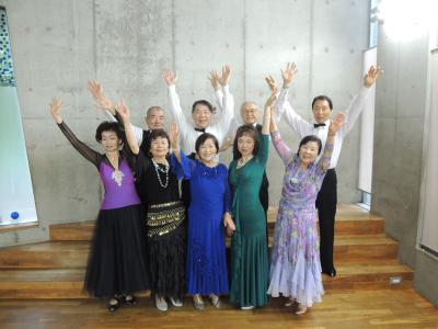 令和元年7月14日中高年社交ダンスサークルCM撮影出演について